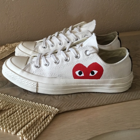 0cfd2f0b3c19b5 Converse Shoes - Converse X Comme Des Garcons Play All Star 70s